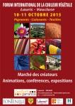 Forum couleur végétale -2015