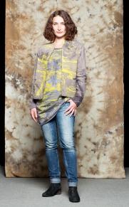 Veste, coton-chanvre bio / Robe 100% coton bio / teinture végétale